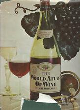 The World Atlas Of Wine By Hugh Johnson 1971 Hardcover Book