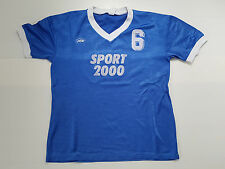 MAILLOT FOOTBALL PORTE WORN SHIRT MAGLIA ANCIEN VINTAGE SPORT 2000 BOURGES N°6