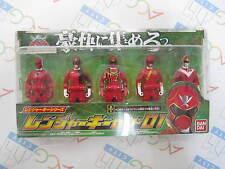 Power Ranger Kaizoku Sentai Gokaiger Ranger Key Series Set 01 Bandai H.K.