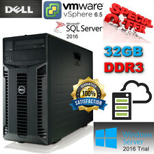 Dell PowerEdge T410 2x QuadCore E5640 2.66Ghz 32GB DDR3 4x500GB SATA 7.2K Perc6i