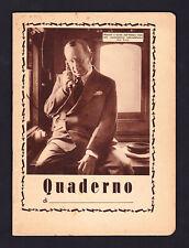 Quaderno della serie GUGLIELMO MARCONI. Anni '30. Telegrafo. Radio. Bologna.
