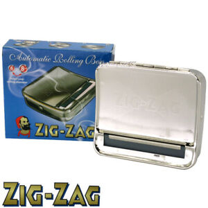1x Zig Zag Automatic Cigarette Tobacco Smoking Easy Hand Rolling Machine Case