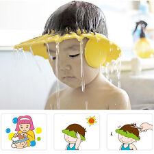 Adjustable Baby Kids Summer Shampoo Bath Bathing Shower Cap Hat Wash Hair Shield