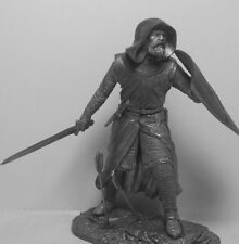 Toy lead soldier,France. Crusader in battle,rare,detailed,collectable,gift idea