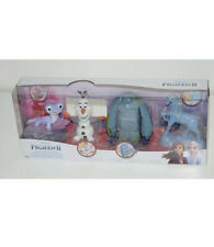 Disney Frozen 2 Play and Collect Friends Set: Fire Spirit,Olaf,Earth Giant,Nokk
