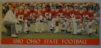 Vintage Football Media Press Guide Ohio State University 1980