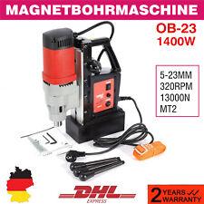 1400W OB-23 Magnet-Kernbohrmaschine Magnetbohrmaschine Bohren Kernbohrer 13000N