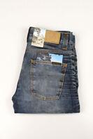 32660 Nudie Jeans Grim Tim Used Blackcoated Bleu Hommes Jean Taille 29/32