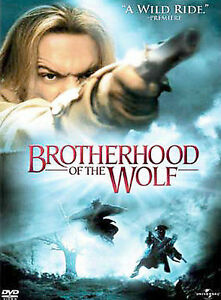 The Brotherhood of the Wolf (DVD, 2002) : New / Sealed