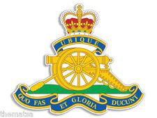 "CANADIAN CANADA ARTILLERY BRANCH ARMY 4"" HELMET BUMPER DECAL STICKER USA MADE"