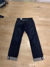 Levi Selvedge White Oak Cone Rigid Jeans 32x34 USA Made - Worn only a few times