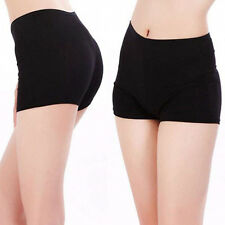 Women Yoga Short Plain Pants Sport Safety Underwear Belly Dance Tight LeggingsMO
