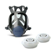 Moldex 9002 Series Full Face Mask Air Respirator Size Medium Free Filters