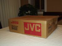 JVC R-K22 Stereo Vintage Receiver Amplifier Amp New in Box Made in JAPAN
