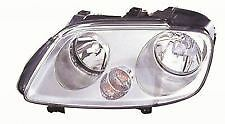VW CADDY 2004-2010 HEADLIGHT HEADLAMP LH LEFT N/S NEAR PASSENGER SIDE