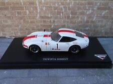 Kyosho  Models  1/43  Toyota  2000GT  Racing   No 03032F