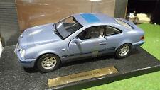 MERCEDES BENZ CLK Bleu Pastel au 1/18 ANSON B66005221 voiture miniature