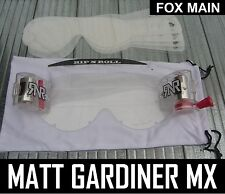 FOX MAIN MOTOCROSS GOGGLES TVS SYSTEM enduro mx fox main RIP N ROLL RNR