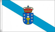 GALICIA FLAG 5' x 3' Galician Galizia Spain Spanish Regional Flags
