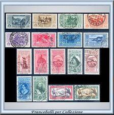 1932 Italia Regno Garibaldi n. 315/324+A32/38 Usati