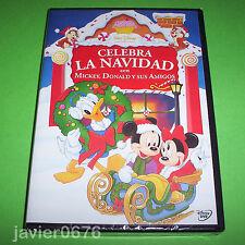 CELEBRA LA NAVIDAD CON MICKEY, DONALD Y SUS AMIGOS DISNEY DVD NUEVO Y PRECINTADO