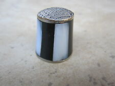 Panels Made in Mexico Vintage Thimble Mother of Pearl