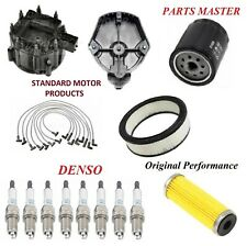Tune Up Kit Filter Cap Wire Spark Plugs For PONTIAC GRAND AM V8 5.0L 1979