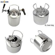 6l Cornelius Style Keg304 Stainless Steel Draft Beer Keg Tap Faucet Co2 Cha