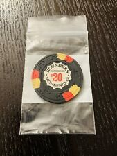 New Listing1-$20 Rounders Card Room Paulson/Paul-Son Casino Clay Poker Chip