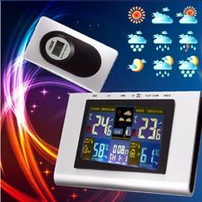Digital LCD Wireless Weather Station Sensor Thermometer Humidity Indoor Outdoor