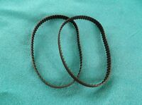 2 NEW DRIVE BELTS MADE IN USA REPLACES SEARS CRAFTSMAN 989185-001 SANDER BELT