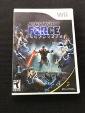 Star Wars: The Force Unleashed - Nintendo  Wii Game Fast Free Shipping!!