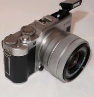 MUST GO** MAKE OFFERS Fujifilm X-A5 24.2MP Digital Camera w/ XC15-45mm  - Silver