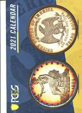 2021 PCGS Coin Calendar - New
