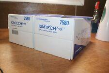Bundle 2 Kimberly-Clark Professional Kimtech Prep Wiper - White 7580 Disposable