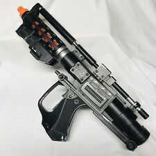 Star Wars Black Stormtrooper Blaster E1 Droid Gun Light&Sound Tested 1999 Lucas