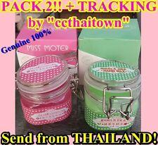 PACK2! MISS MOTER WAX MATCHA & MILK GREEN TEA HAND & CHERRY PINK FACE 200g WHITE