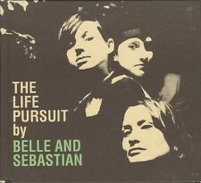 BELLE and SEBASTIAN The Life  Pursuit by CD DVD DIGIPACK 13 & 6 track LIVE