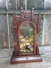 Antique New Haven Kitchen / Parlor Shelf / Mantel Clock Case