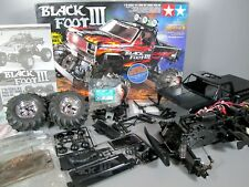 "Rare Vintage Tamiya 1/10 R/C Blackfoot 3 III 2WD Off Road ""Partial Built Kit"""