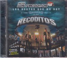 SEALED - Banda Los Recoditos CD + DVD Los Gustos Que Me Doy - BRAND NEW