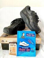 SKECHERS 66504 SHAPE UPS XW OVERHAUL Rocker Bottom Exercise Shoes Black Mens 9