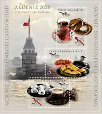 "TURKEY / 2020 - EUROMED 2020 ""Gastronomy"" (Cofee, Dessert), MNH"