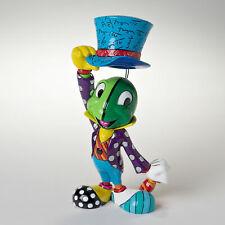 Enesco Disney by Britto Pinocchio Jiminy Cricket Holding Hat Figurine 7.75 Inch