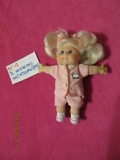 CABBAGE PATCH : DOLL, BAMBOLA MINI N 4,KIDS,COMPLETO ROSA,VINTAGE, ANNI '90