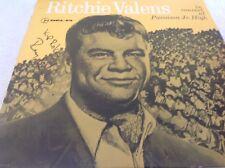 NM RITCHIE VALENS 1960 album In Concert At Pacoima Jr High 1987  CBF's 1024