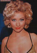 Christina Aguilera-a3 poster (environ 42 x 28 CM) - xtina captures collection NEUF