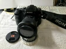 Sony Alpha a100 10.2MP Digital SLR Camera w/18-70mm Lens, Memory, Filters, Flash