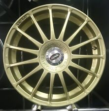 "** BARGAIN** 18"" Monza Team Dynamics gold set of 4 Alloy Wheels Multifitment"