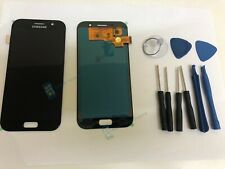 Black Samsung Galaxy A5 A520F 2017 Screen LCD Assembly Digitizer Replacement
